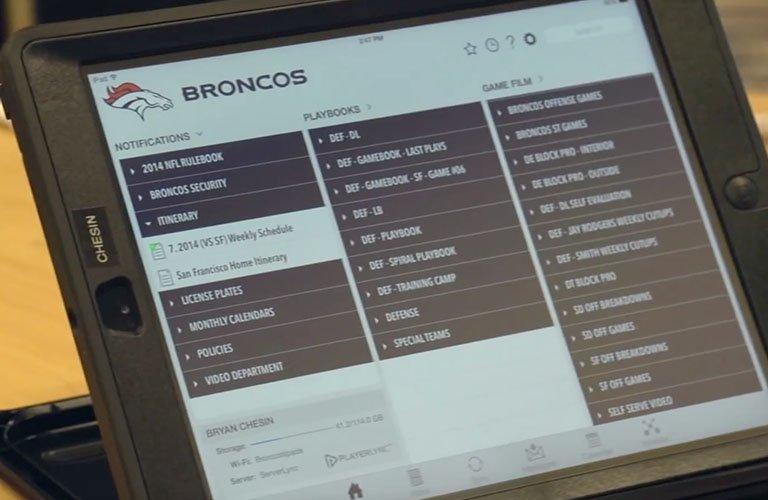 Denver Broncos playbook